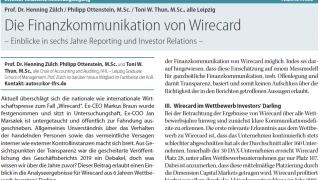 Die Finanzkommunikation von Wirecard